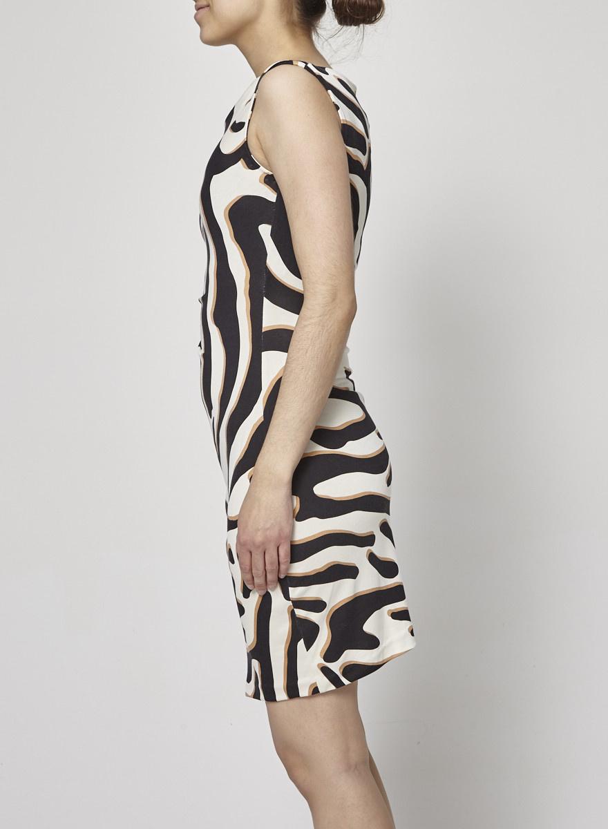 Diane von Furstenberg Animal Print Dress