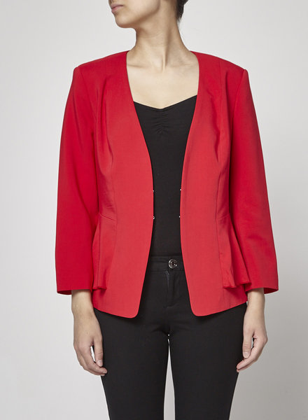 Iris Setlakwe RED BLAZER - NEW WITH TAGS