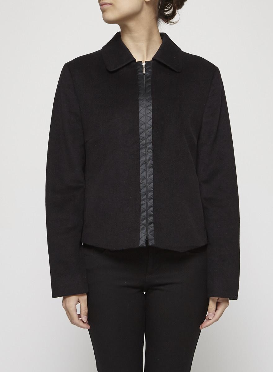 Laurèl Black Wool Jacket
