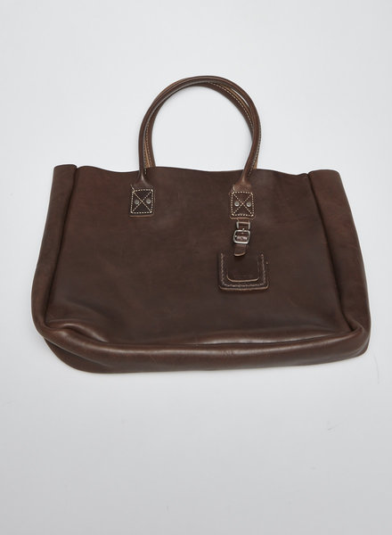 Billykirk BROWN LEATHER TOTE BAG