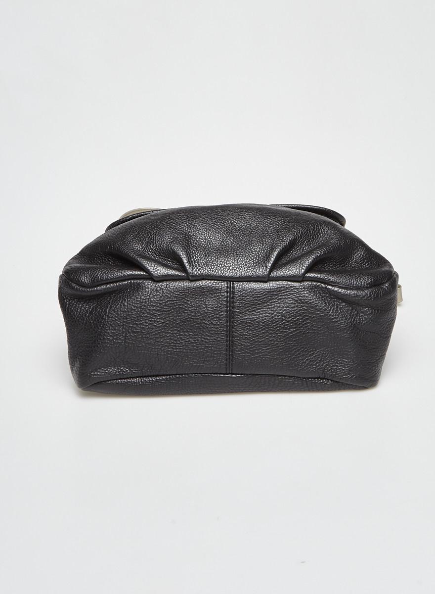 Marc by Marc Jacobs Sac à bandoulière en cuir noir et gris