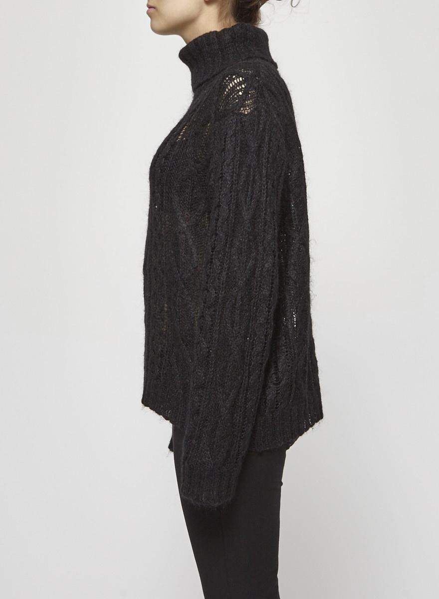Isabel Marant Étoile  Black Knitted Turtleneck