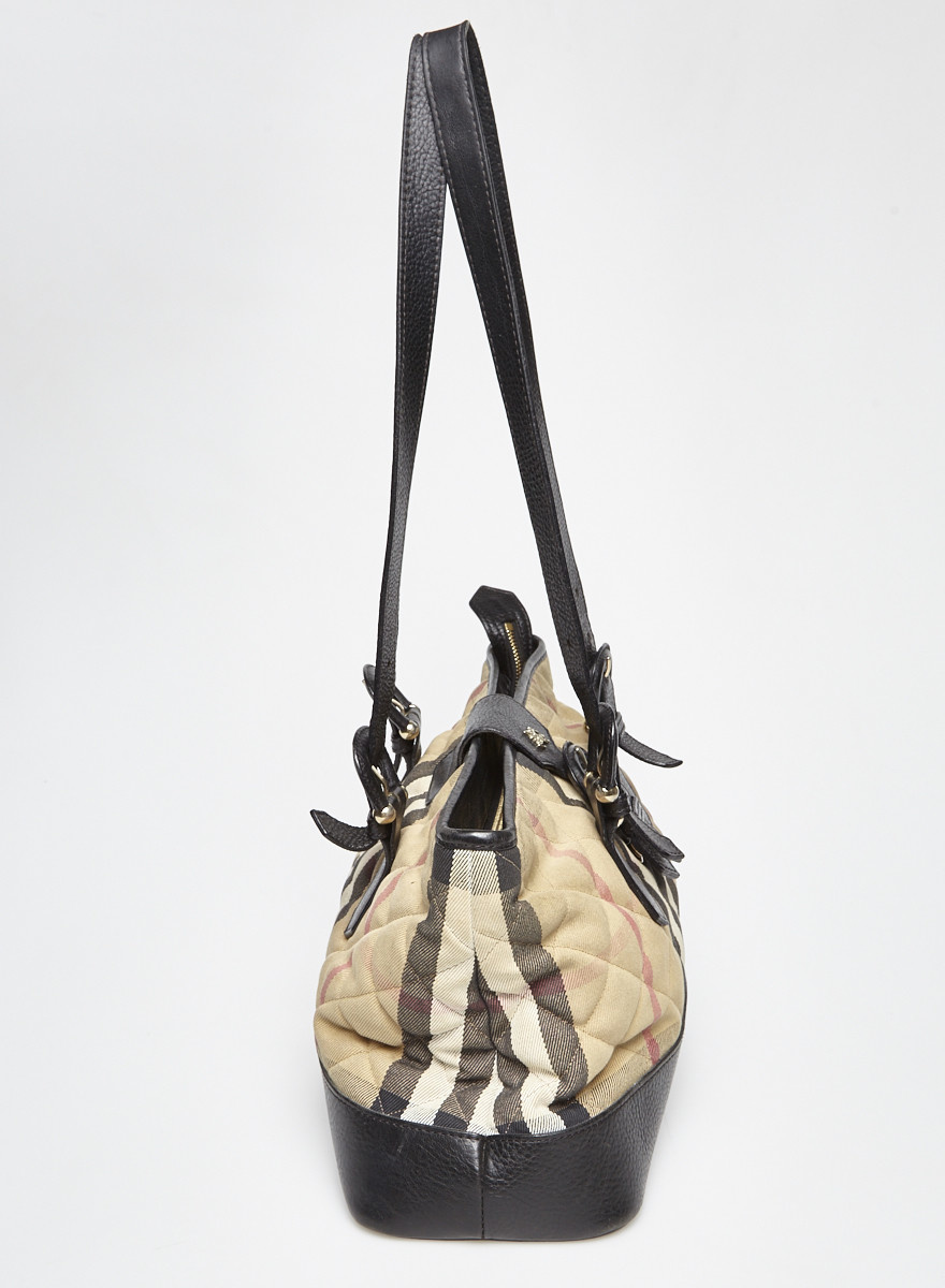Burberry Burberry Checked Quilted Bag