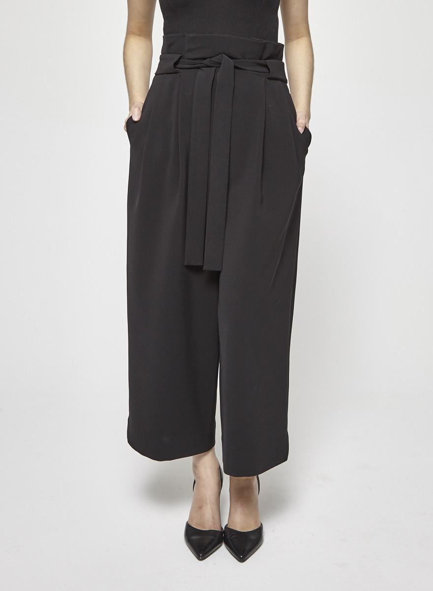 COS High Waisted Black Pants