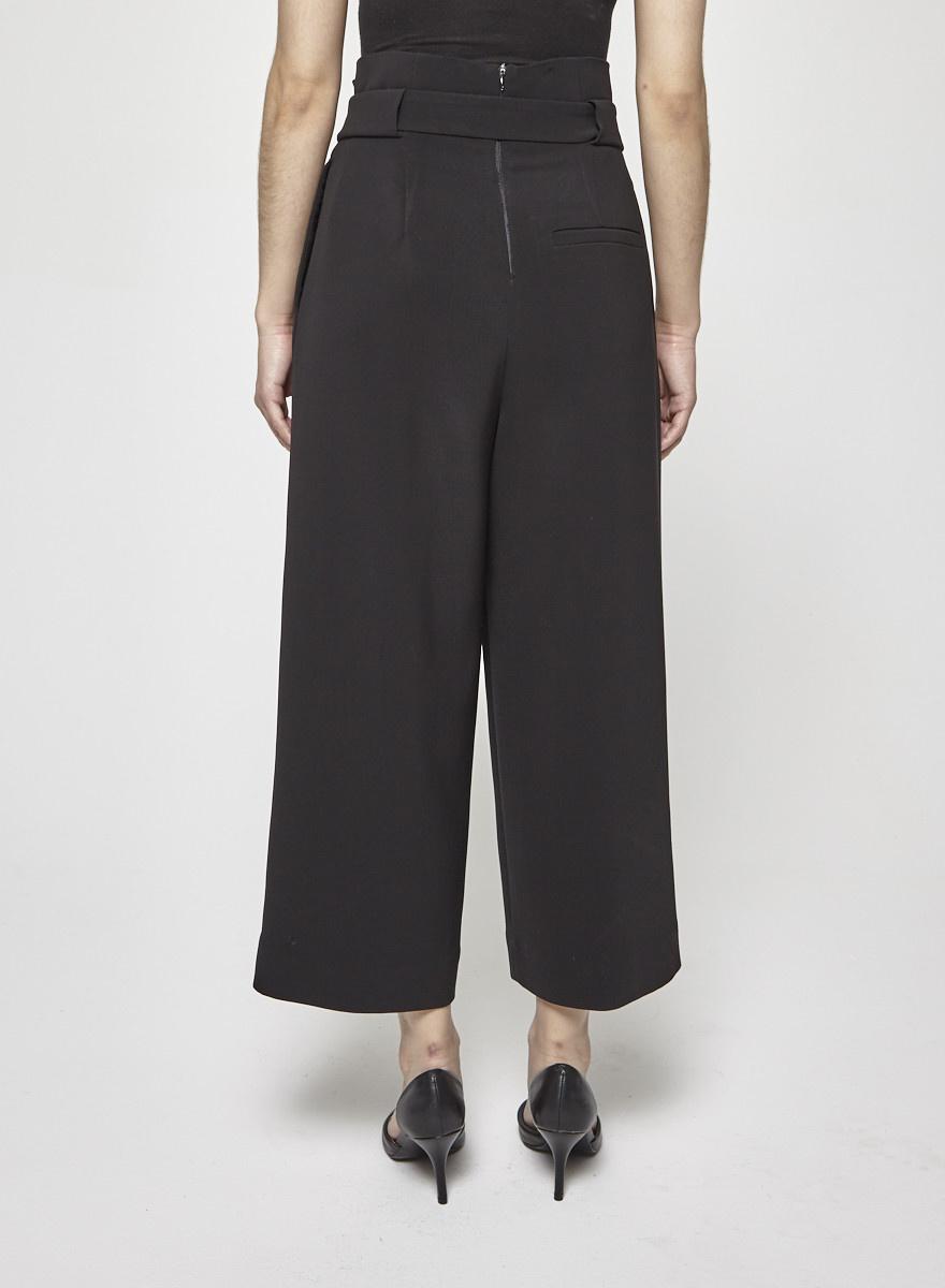 COS Pantalon noir taille haute