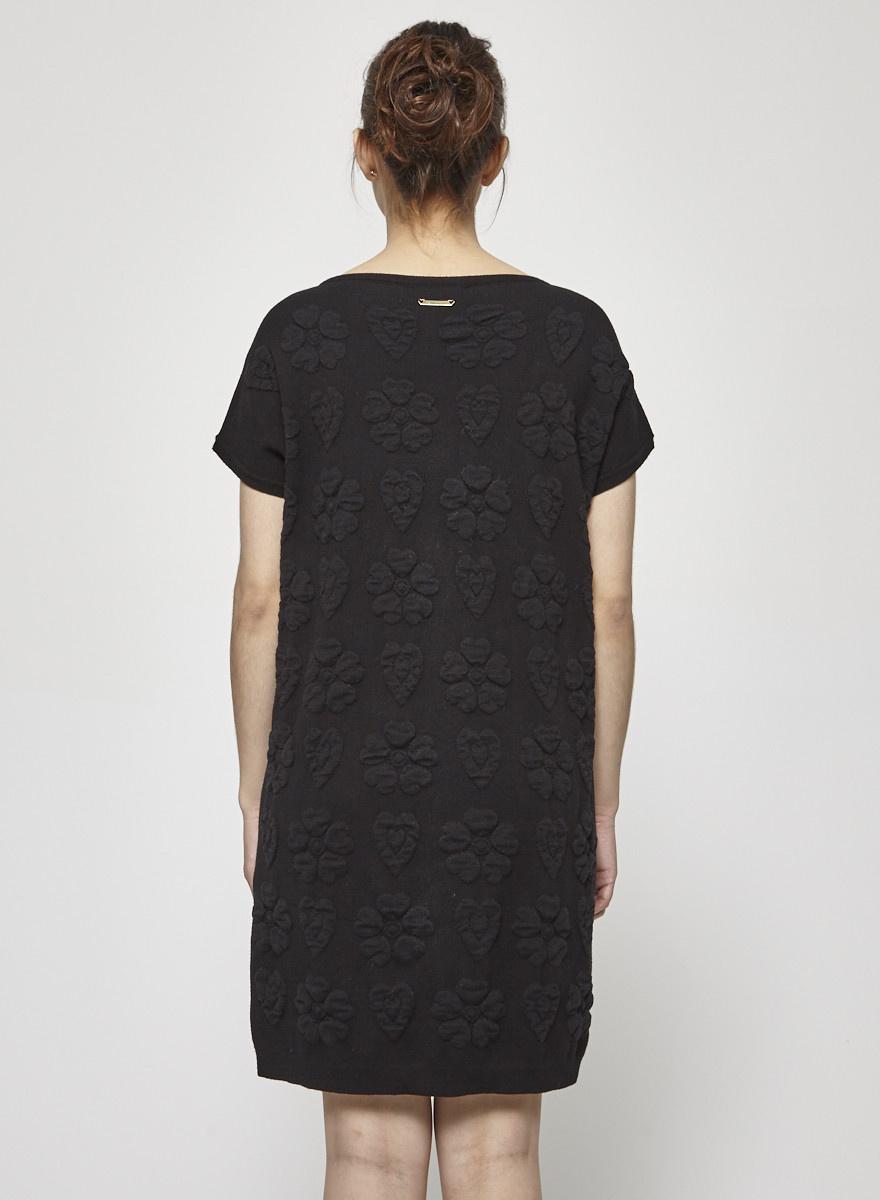 Twin-Set Simona Barbieri Robe en laine à motifs