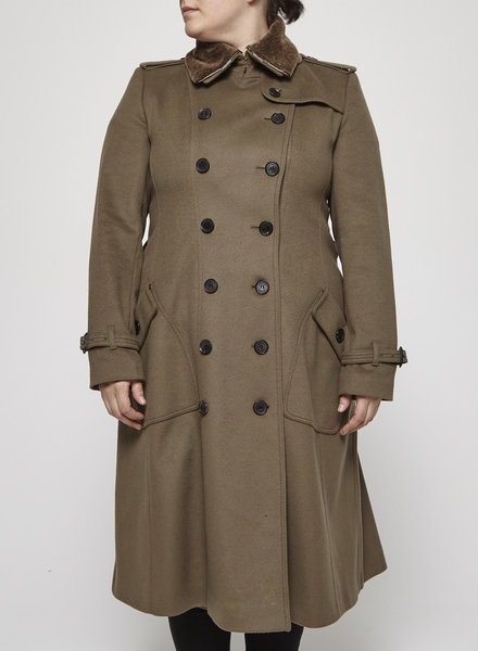 Burberry MILITARY STYLE KHAKI COAT