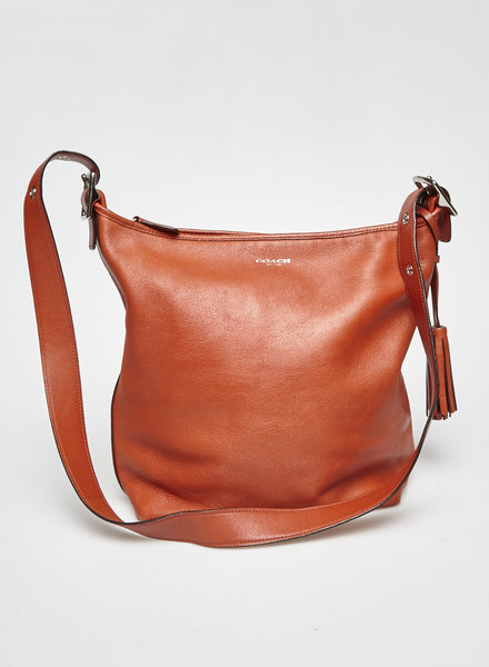 Coach CABAS ORANGE EN CUIR