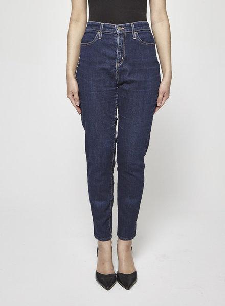 Iris DARK BLUE STRAIGHT-LEG JEANS