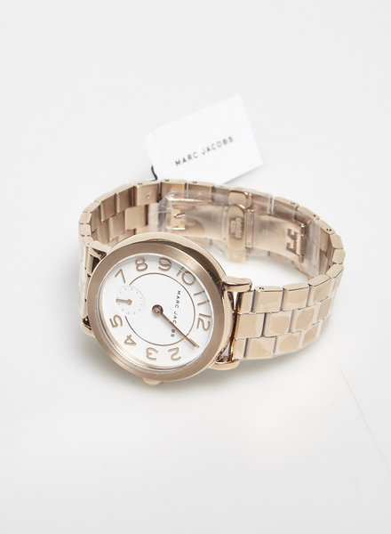 Marc Jacobs ROSE GOLD STAINLESS STEEL WATCH - NEW