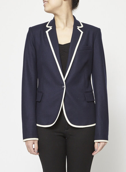 Theory BLUE WOOL BLAZER