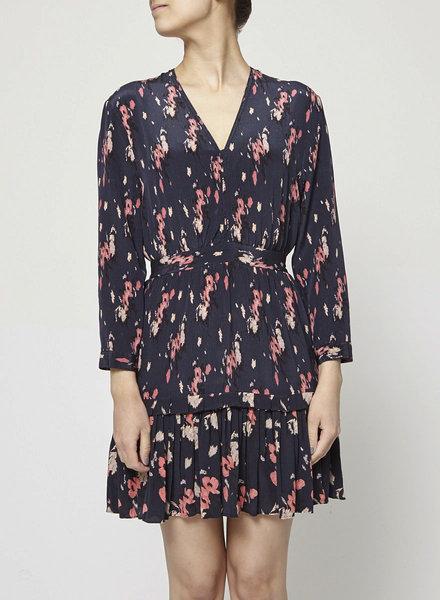 AllSaints NEW PRICE (WAS $160) - FLOWER-PRINT SILK DRESS
