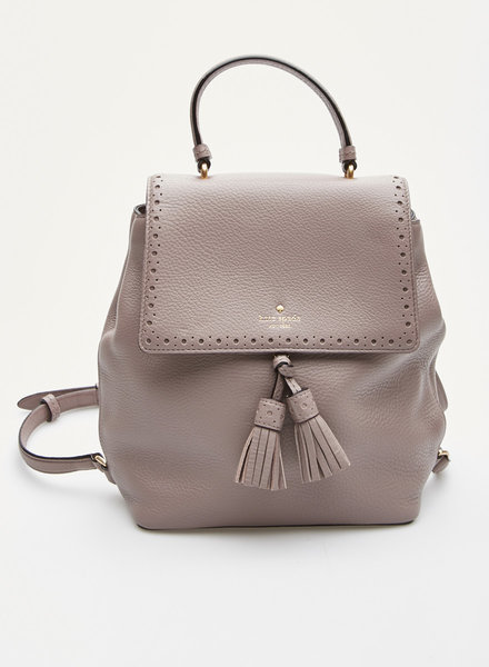 Kate Spade SMALL LILAC LEATHER BACKPACK BAG