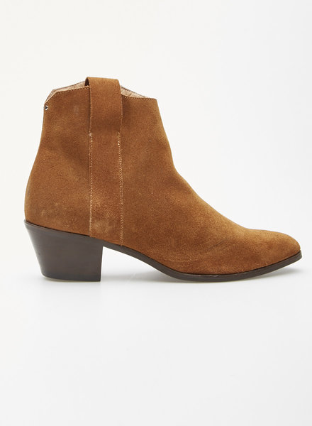 Cartel BROWN SUEDE BOOTIES