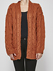 Heartloom RUST CARDIGAN - NEW WITH TAGS