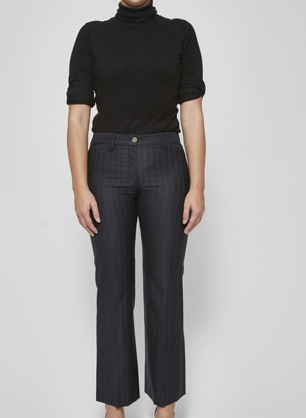 Dolce & Gabbana SALE (WAS $280) - DARK BLUE PANTS WITH THIN LINES