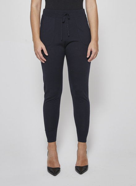 Theory DARK BLUE JOGGER STYLE PANTS