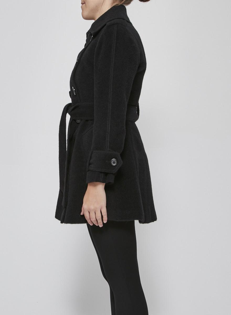 M Siamo Woolen black coat
