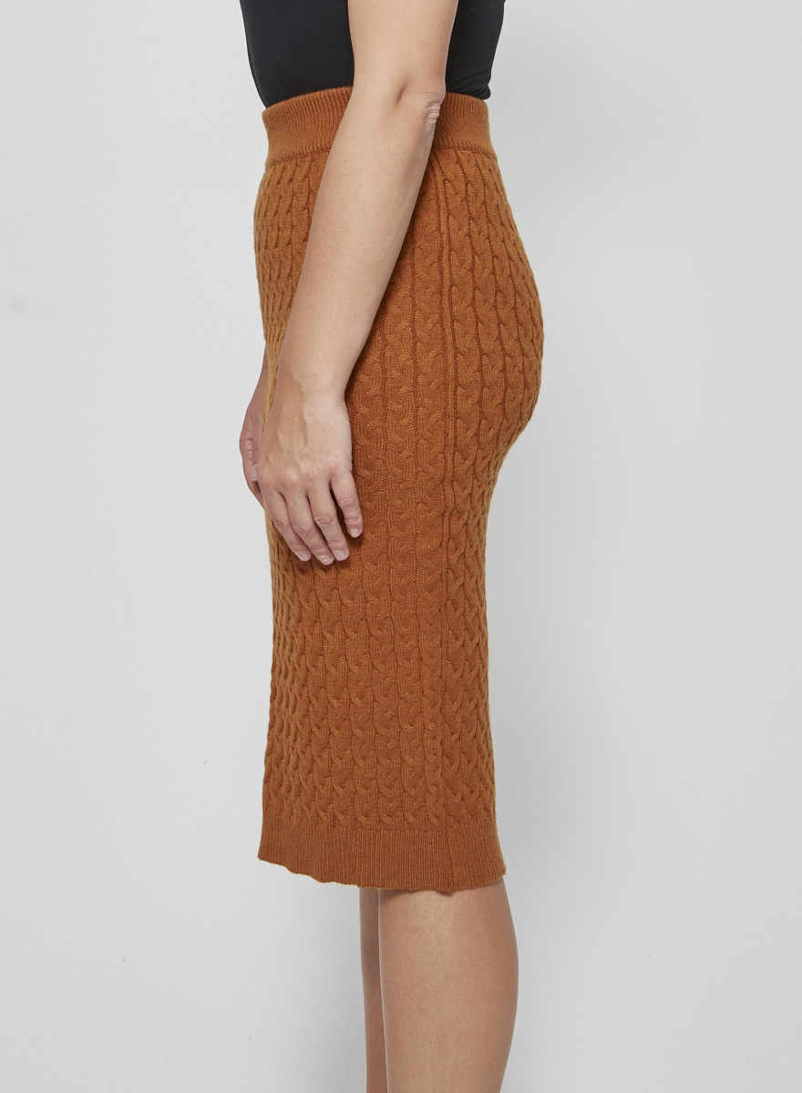 Heartloom Burnt orange knitted skirt - New with Tags