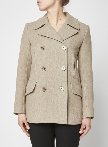 Theory BEIGE WOOL JACKET