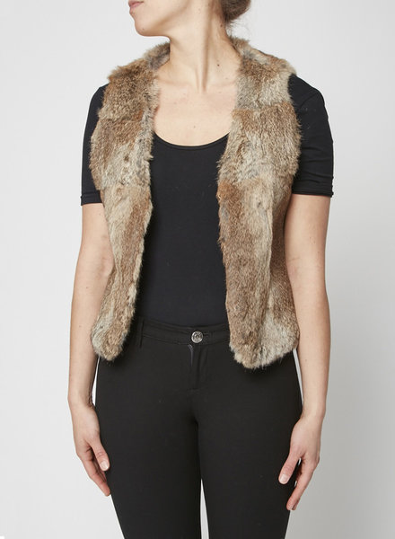 Rudsak SLEEVELESS FUR JACKET