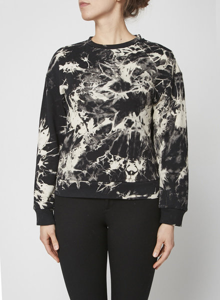 SEN SWEATSHIRT WITH TIE DYE EFFECT - NEW WITH TAGS