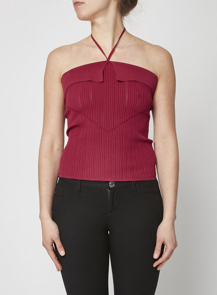 Chanel FUSCHIA SLEEVELESS TOP