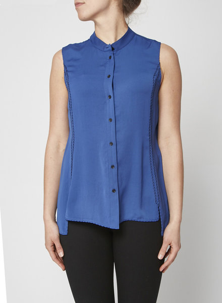 Rag & Bone BLUE SLEEVELESS TOP
