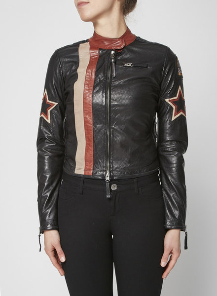 ParaJumpers LEATHER MOTO STYLE JACKET