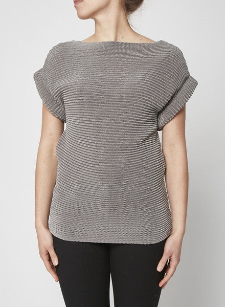 Alexander Wang GREY SLEEVELESS SWEATER - NEW WITH TAG