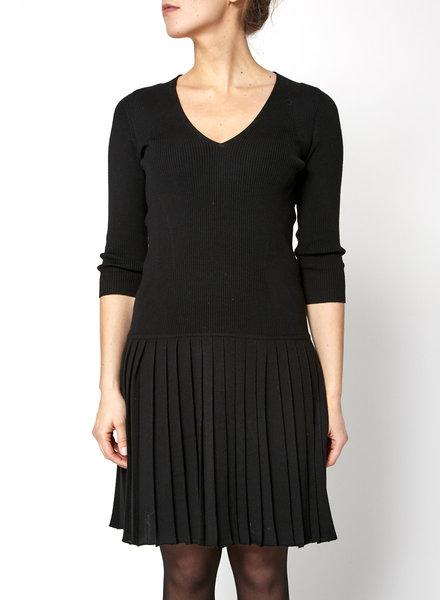 Prada BLACK KNITTED DRESS