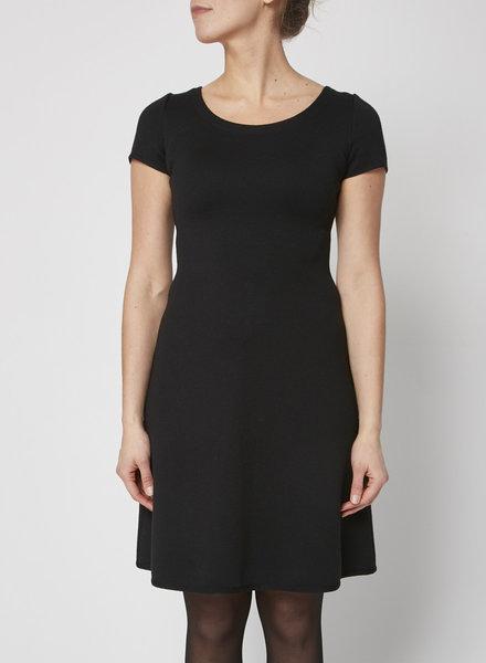 Prada A LINE BLACK DRESS