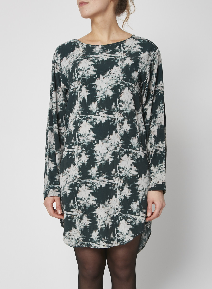 Sam & Lavi Shift dress with distressed floral pattern - New with Tags
