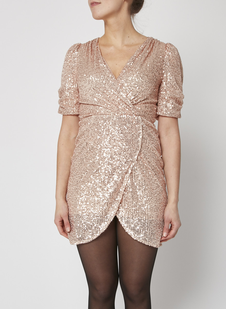 Heartloom NEW PRICE (WAS $115) - PINK SEQUINED DRESS - NEW WITH TAG