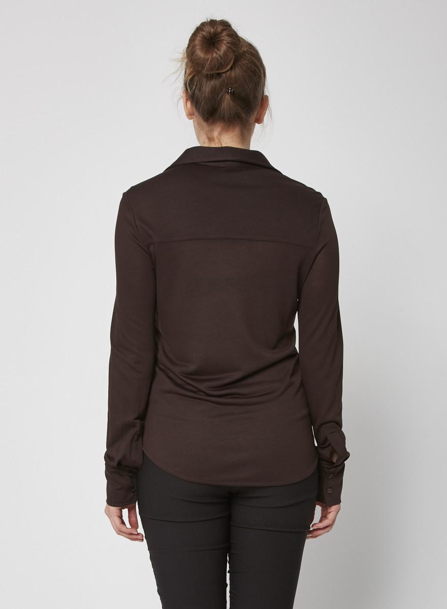 COS Brown Polo Shirt