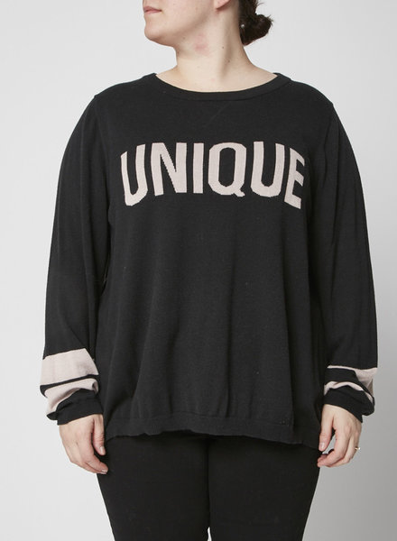 Marina Rinaldi BLACK ''UNIQUE'' TOP