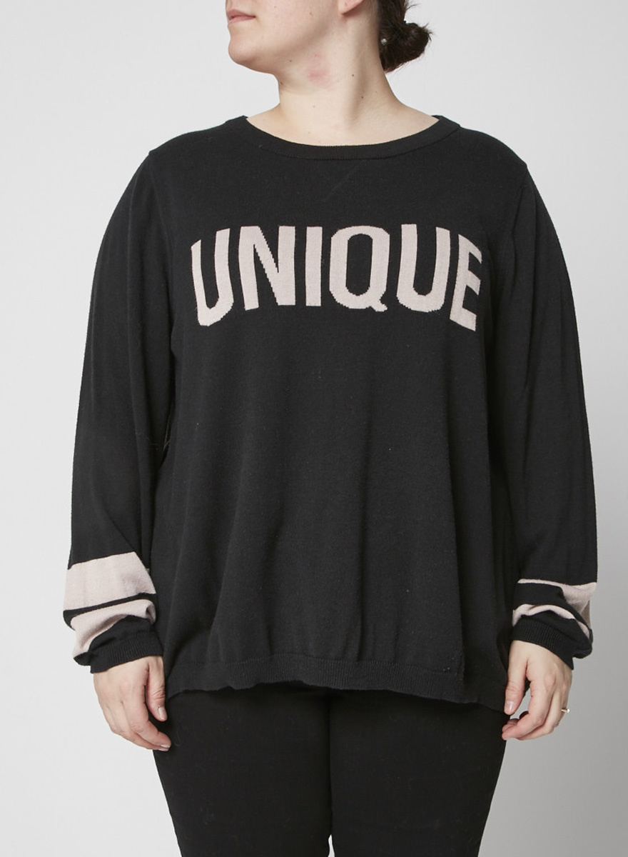 Marina Rinaldi Black ''Unique'' top