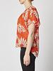 Diane von Furstenberg Blouse en soie orange