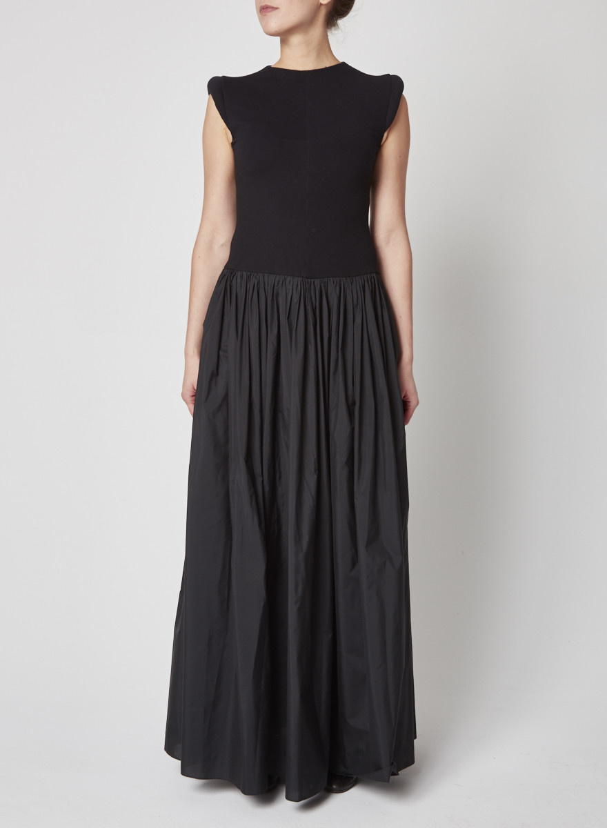 Marie Saint Pierre Black Long Dress