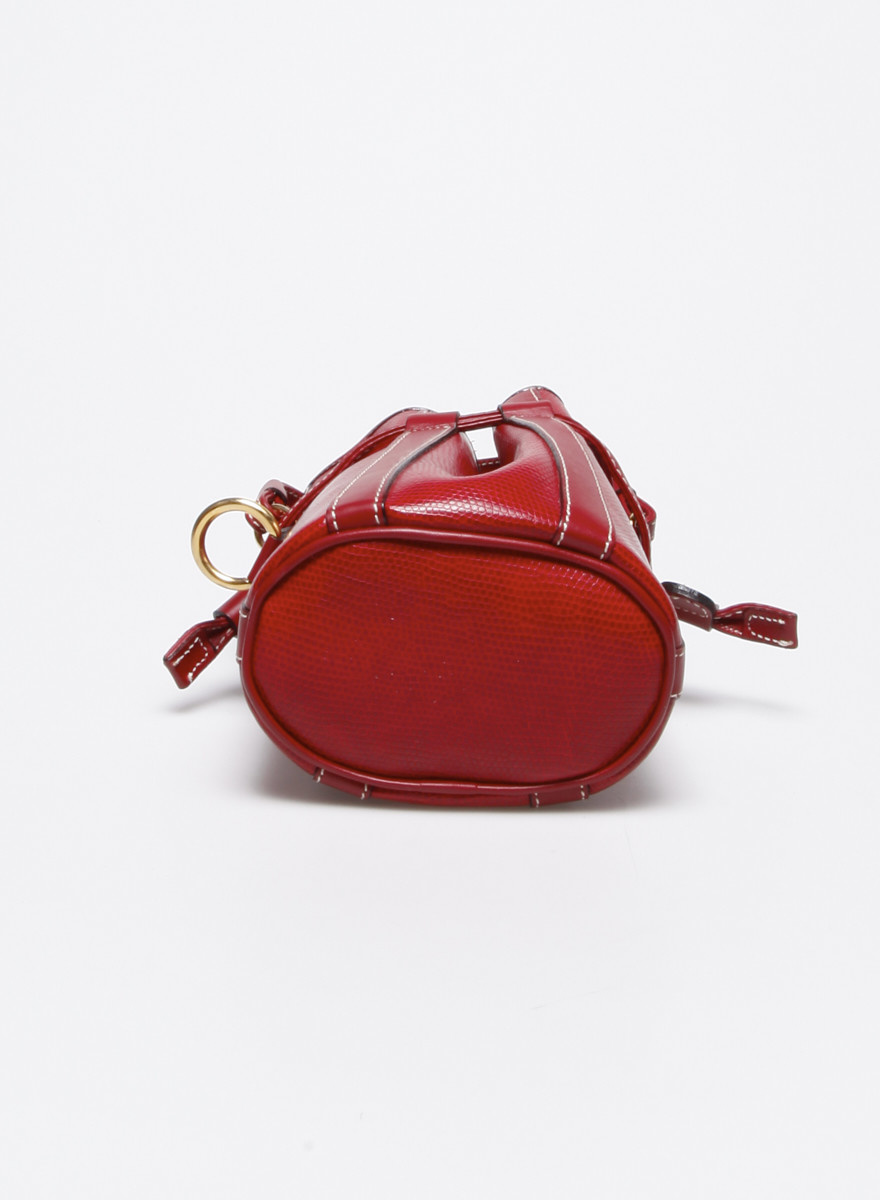 Lancel Petit sac sceau rouge