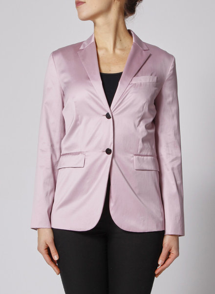 Theory PINK SATINED BLAZER