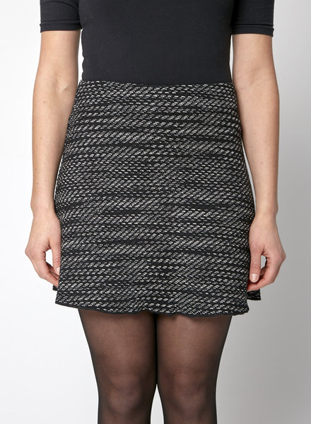 M Missoni BLACK KNITTED SKIRT