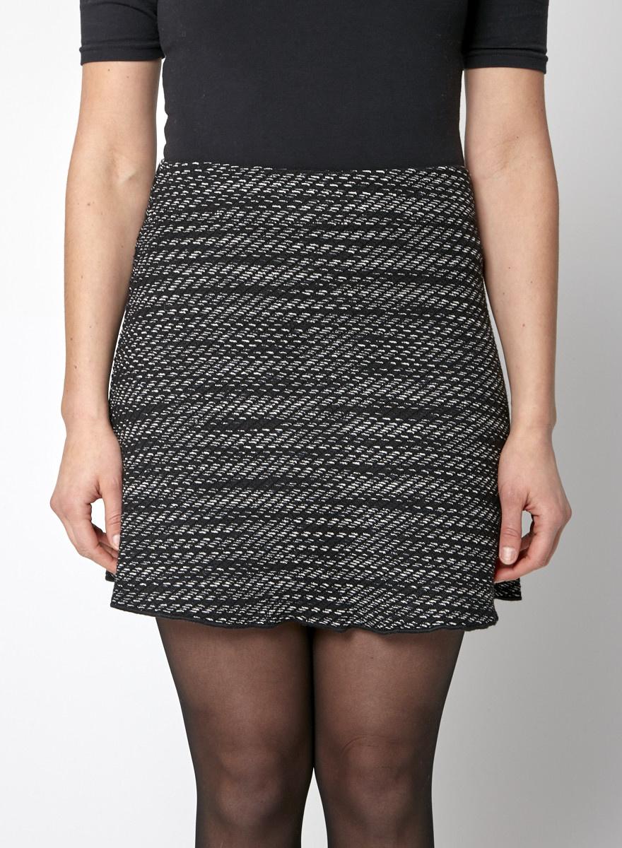 M Missoni Black Knitted Skirt