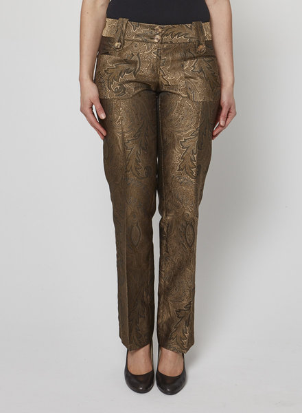 Michael Kors GOLDEN BROCARDE PANTS