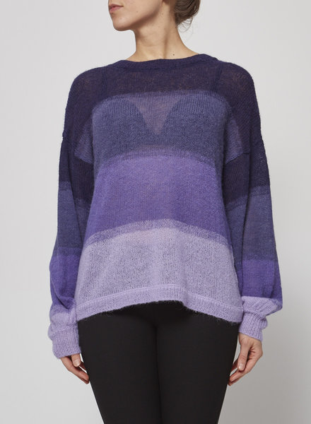 Charli PURPLE PULLOVER MADE WITH ALPACA - NEW WITH TAG