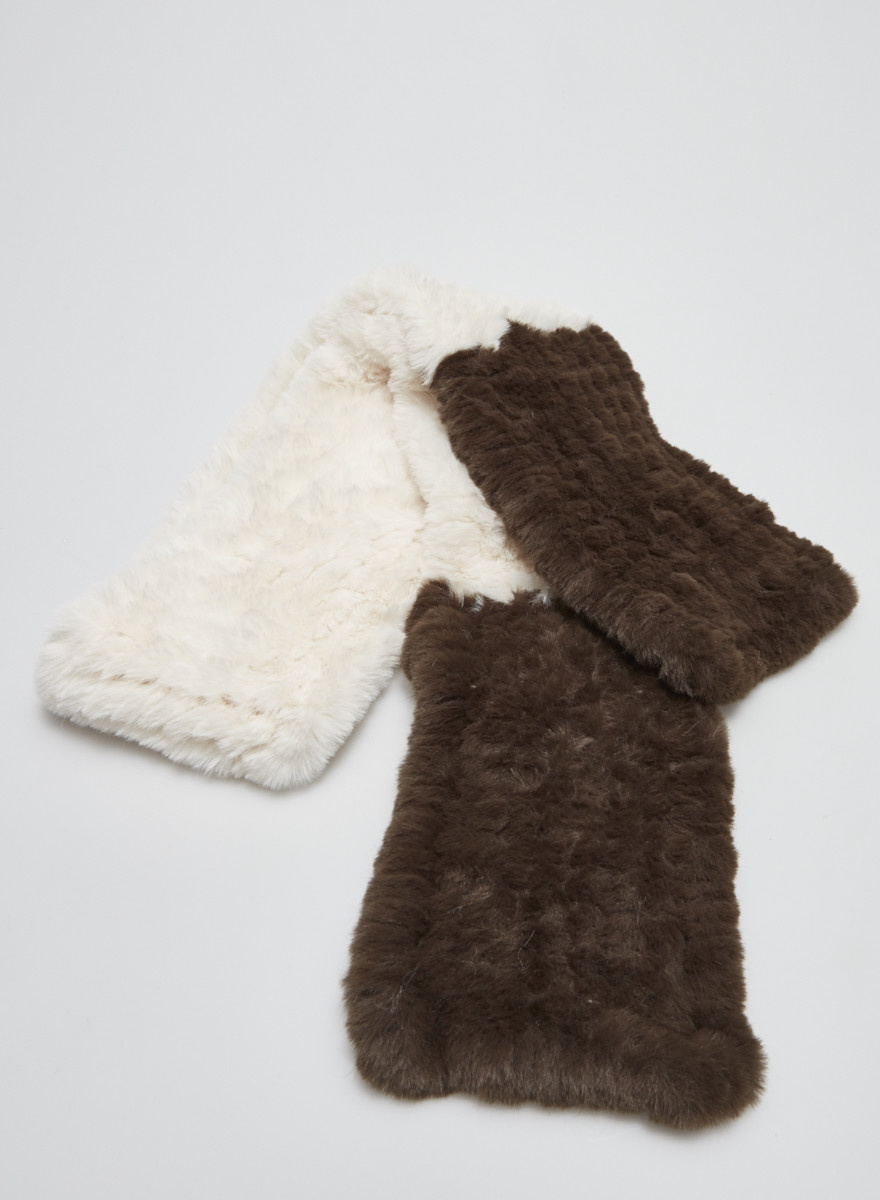 Heartloom FAUX FUR SCARF - NEW WITH TAG