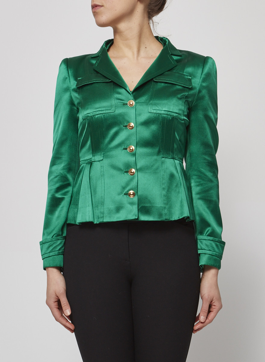 Gucci EMERALD GREEN BLAZER