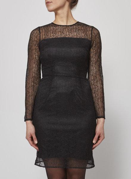 Designers Remix - Charlotte Eskildsen BLACK LACE DRESS