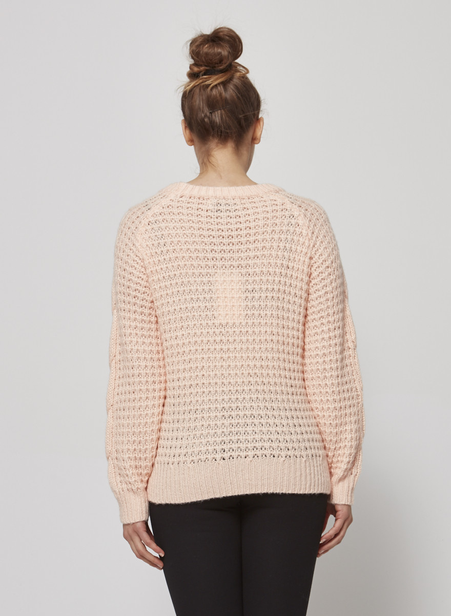 Heartloom PINK SWEATER - NEW WITH TAG