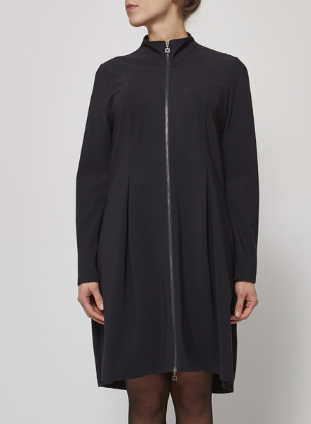 Sarah Pacini SCUBA BLACK DRESS
